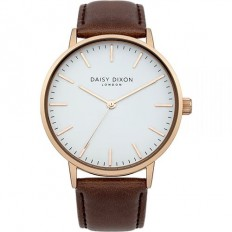 Daisy Dixon Watch Woman Only Time Alexa Collection Brown