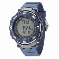 Timberland Men's Digital Watch Mendon Collection Blue