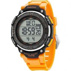 Timberland Unisex Digital Watch Cadion Collection Orange