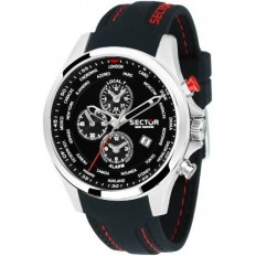 Sector Watch Man Multifunction 180 Collection Black