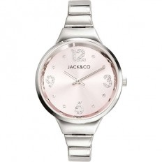 Jack&Co Watch Woman Only Time Dream Collection Silver/Rose