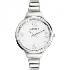 Jack&Co Watch Woman Only Time Dream Collection Silver/White