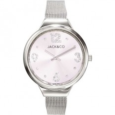 Jack&Co Watch Woman Only Time Monica Collection Mesh Silver/Rose