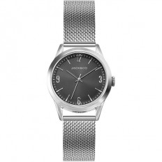 Jack&Co Watch Woman Only Time Giovanna Collection Mesh Silver/Black