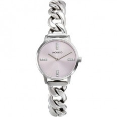 Jack&Co Watch Woman Only Time Sophia Collection Silver/Rose