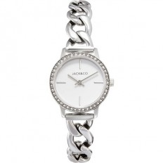 Jack&Co Watch Woman Only Time Sophia Collection Silver/White