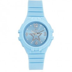 Jack&Co Watch Woman Only Time Pop Margherita Collection Lightblue Crystals