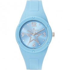 Jack&Co Watch Woman Only Time Pop Sabrina Collection Lightblue Crystals