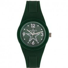 Jack&Co Watch Woman Only Time Pop Cristiana Collection Deep Green Crystals