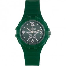 Jack&Co Watch Woman Only Time Pop Margherita Collection Deep Green Crystals