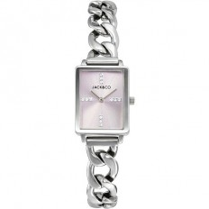 Jack&Co Watch Woman Only Time Claudia Collection Mesh Silver/Rose
