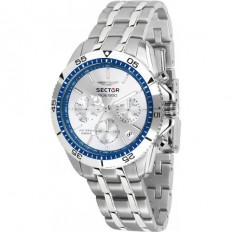 Sector Watch Man Chronograph Sge 650 Collection Silver