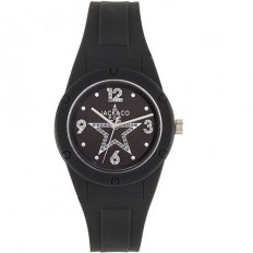 Jack&Co Watch Woman Only Time Pop Cristiana Collection Black Crystals