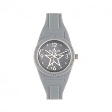 Jack&Co Watch Woman Only Time Pop Sabrina Collection Grey Silicone