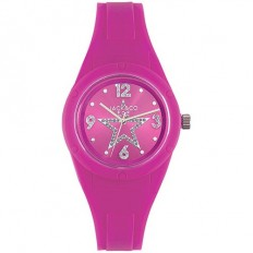 Jack&Co Watch Woman Only Time Pop Sabrina Collection Fuchsia Crystals