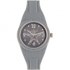 Jack&Co Watch Woman Only Time Pop Sabrina Collection Grey Crystals