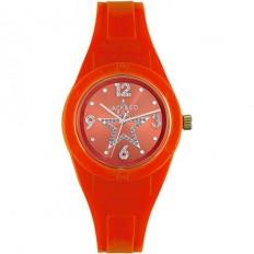 Jack&Co Orologio Donna Solo Tempo Collezione Pop Sabrina Orange Crystals