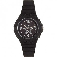 Jack&Co Watch Woman Only Time Pop Margherita Collection Black Crystals