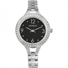 Jack&Co Watch Woman Only Time Dream Monica Collection Silver/Black