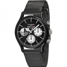 Sector Watch Man Multifunction 660 Collection Black