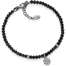 Amen Bracelet Man Pepite Collection Angel Black