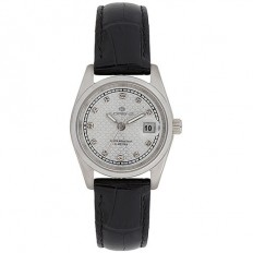 Lorenz Women's Watch Only Time Ginevra Collection Leather Black