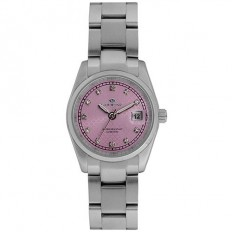 Lorenz Women's Watch Only Time Ginevra Collection Pink