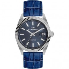 Lorenz Watch Unisex's Only Time Automatic Ginevra Collection Blue
