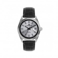 Lorenz Watch Unisex's Only Time Automatic Ginevra Collection Silver