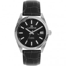 Lorenz Watch Unisex's Only Time Automatic Ginevra Collection Black