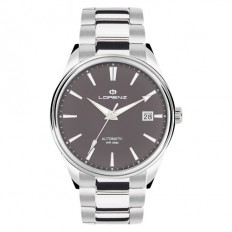 Lorenz Watch Unisex's Only Time Automatic Arrow Collection Grey Steel