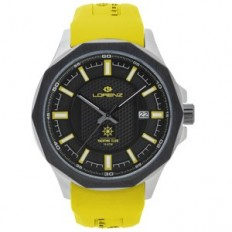 Lorenz Watch Man Only Time Automatic Sea Collection Yellow