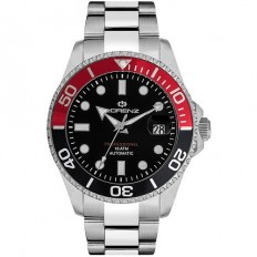 Lorenz Watch Man Automatic Professional Collection Black/Red