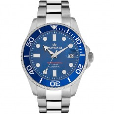 Lorenz Watch Man Automatic Professional Collection Blue