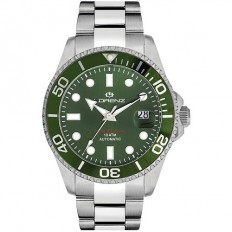 Lorenz Watch Man Automatic Professional Collection Green