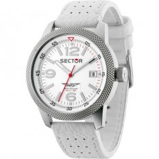 Sector Watch Man Only Time Overland Collection White