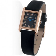 Hoops Women's Watch Only Time Prestige Collection Rosegold Black