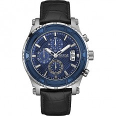 Guess Watch Men's Chronograph Collection Pinnacle Blue