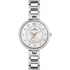 Lorenz Women's Watch Only Time Blue Moon Collection White