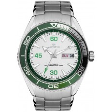 Lorenz Automatic Men's Watch Green/White