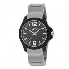 Liu Jo Watch Unisex Only Time Man Watch Collection Grey/Black
