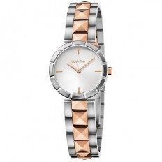 Calvin Klein Woman Only Time Rockstud Collection Bicolor