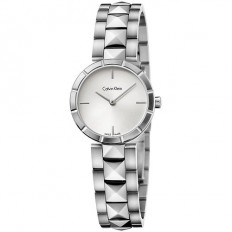 Calvin Klein Woman Only Time Rockstud Collection Silver