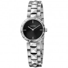 Calvin Klein Woman Only Time Rockstud Collection Black