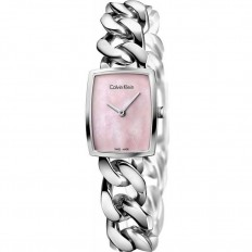 Calvin Klein Woman Only Time Amaze Collection Pink Mother of Pearl