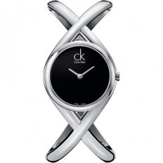 Calvin Klein Woman Only Time Enlace Collection Black