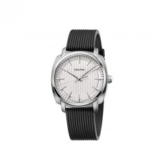 Calvin Klein Men's Watch Only Time Highline Collection White