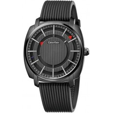 Calvin Klein Men's Watch Only Time Highline Collection Total Black