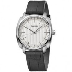 Calvin Klein Men's Watch Only Time Highline Collection Crocodile