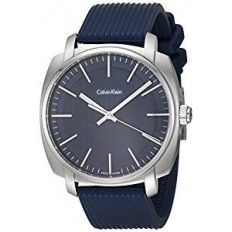 Calvin Klein Men's Watch Only Time Highline Collection Blue